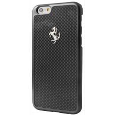 "Ferrari GT Carbon Hard Case for iPhone 6 / 6s (4.7"") Black Frame"