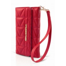 """Karl Lagerfeld Kuilted Series Clutch Case for iPhone 6 / 6s (4.7"""") Red"""