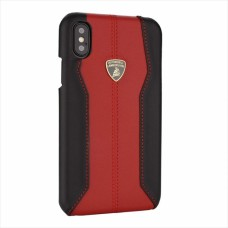 "Lamborghini Huracan-D1 Leather Back Cover Case for iPhone Xs Max (6.5"") Black"